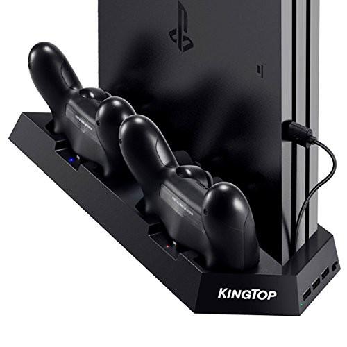 KINGTOP 冷却 新型 PS4 PRO 専用版コントローラー...