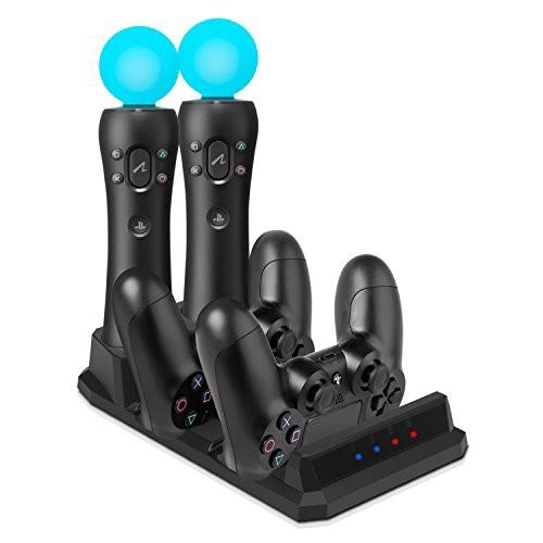 KetenTech PS4/PSVR 充電スタンド 最新版 充電デ...