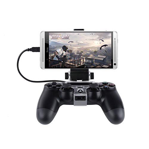 J-KONKY PS4コントローラー用スマホマウントホル...