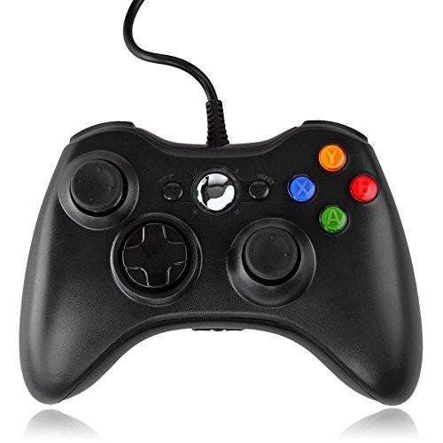 JAMSWALL Xbox 360 コントローラー ブラック 有線...