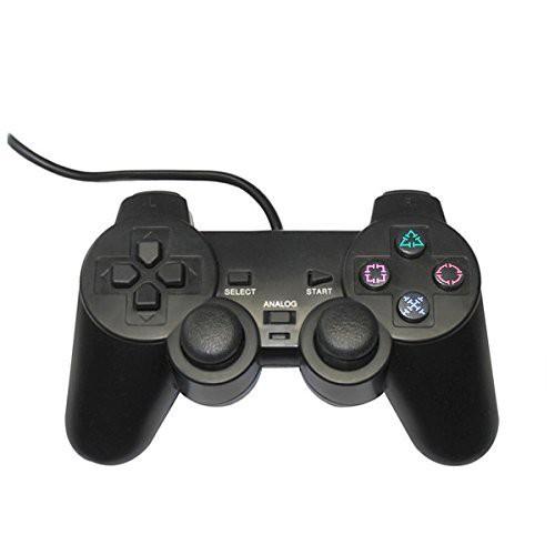 PS2対応 アナログコントローラー ブラック サード...