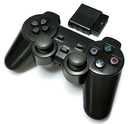 PS2 ワイヤレスコントローラー (プレステ2で使え...