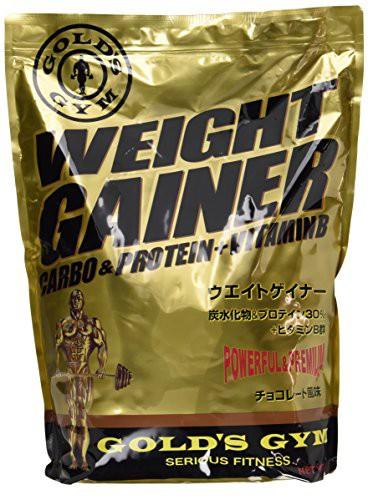 GOLD'S GYM ウエイトゲイナー チョコレート風味 3...