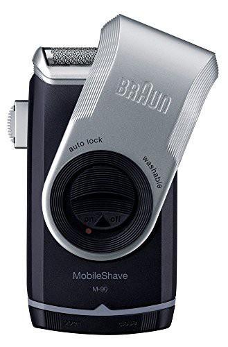 ブラウン モバイル髭剃り 携帯用メンズシェーバー...