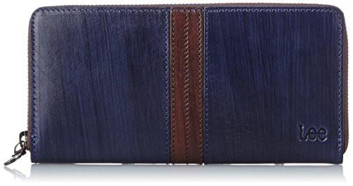 [リー] 財布 高級イタリアンレザー ラウンドファ...
