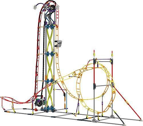 K'NEX Electric Inferno Rollercoaster Building ...