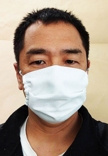 綿和晒(さらし)布マスク