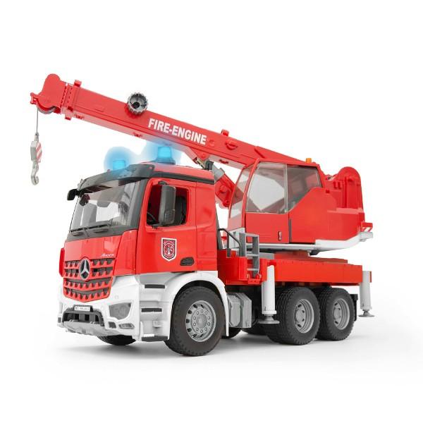 BRUDER MB Arocs 救急クレーントラック 03675