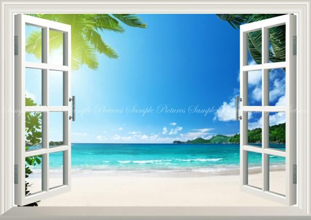 絵画風 壁紙ポスター  トロピカル ビーチ バリ島 ...