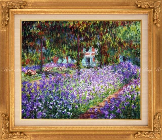絵画風 壁紙ポスター  クロード・モネ モネの庭の...