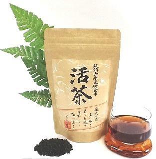黒焼き赤米玄米茶(バラ包装タイプ)活茶300g(1...