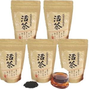 【送料無料】黒焼き赤米玄米茶・お買い得5個セッ...