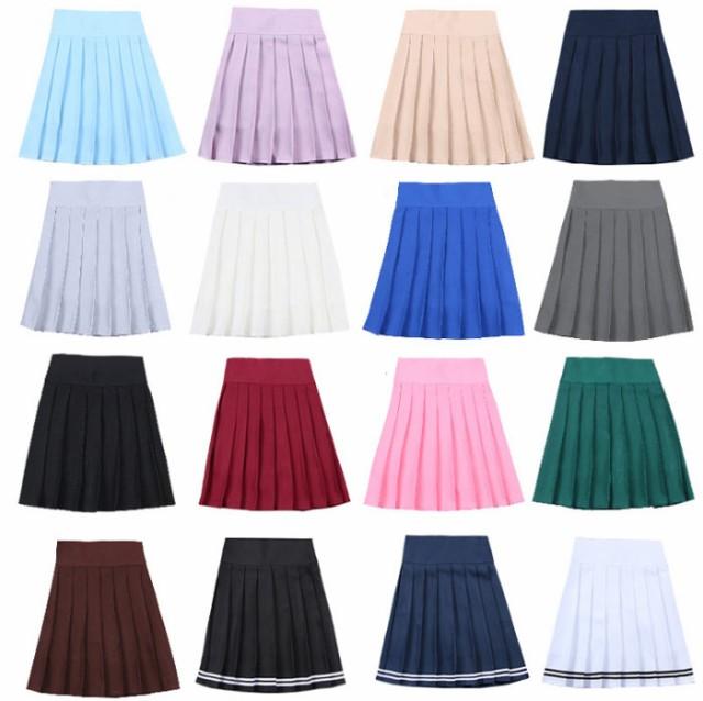 入学式 卒業式  プリーツスカート(インナー付)...