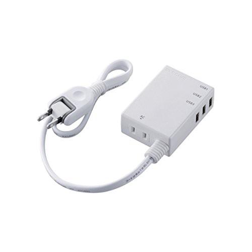エレコム USB タップ 充電器 iPhone&android対応 ...