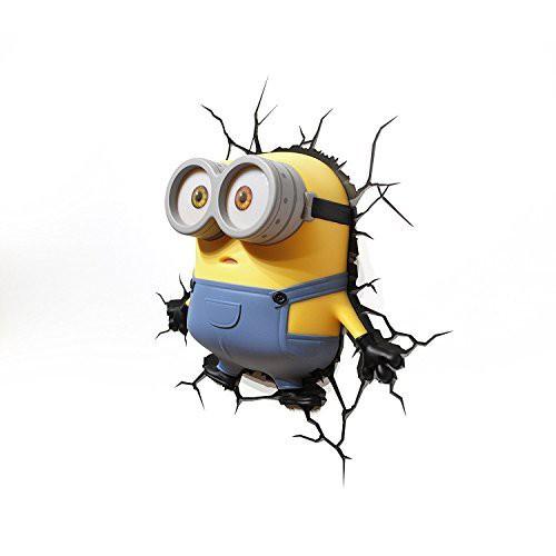 Minions ミニオンズ ボブ 3D LED ウォールライト ...