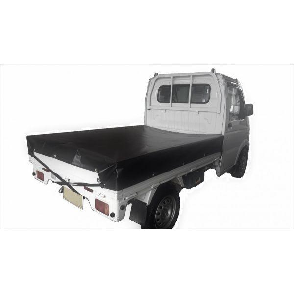 トラックシート ブラック 軽トラック 1.9m×2.1m ...