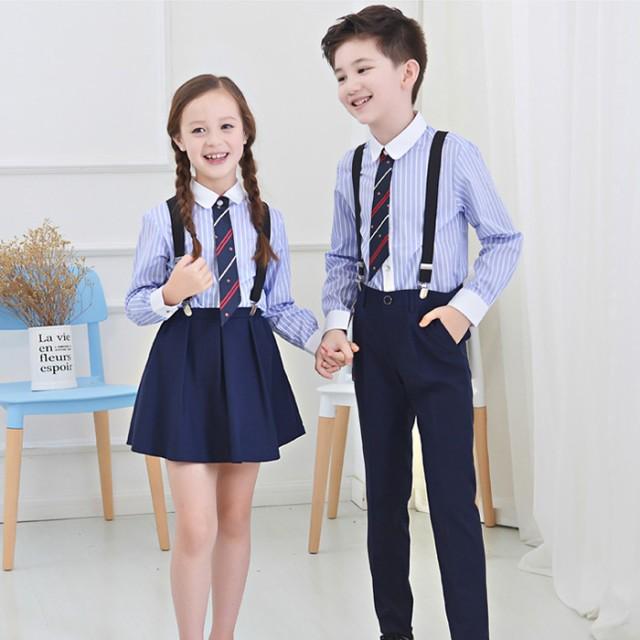 子供 4点セット(シャツ/ネクタイ/パンツ/スカート...
