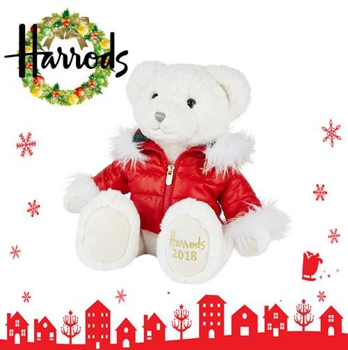 HARRODS ハロッズ 2018 クリスマスベアー テディ...