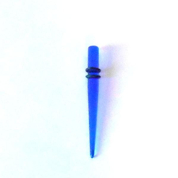 6G 拡張器 エキスパンダー ボディピアス ブルー ...