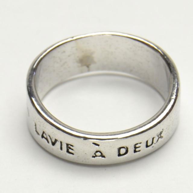 二人の人生 メッセージリング LAVIE A DEUX  レデ...