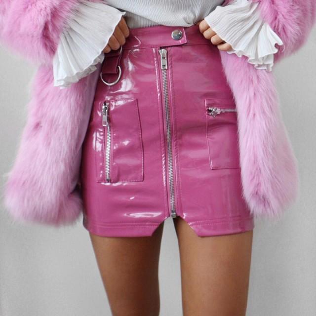 タイトスカート 3色 ピンク ホワイト ブラック ...