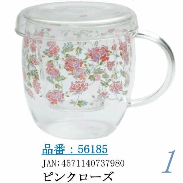 ハーブティマグカップ(耐熱ガラス製)☆代引き手数...