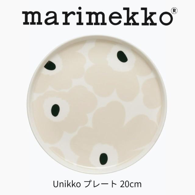 マリメッコ ウニッコ プレート 20cm ギフト marim...