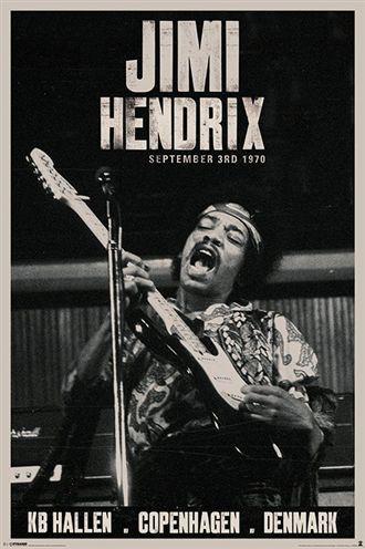 ジミ・ヘンドリックス ポスター JIMI HENDRIX (C...