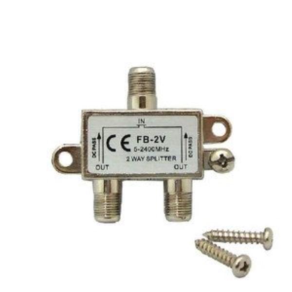 アンテナ 2分配器 全端子電流通過型 5-2400MHz ...