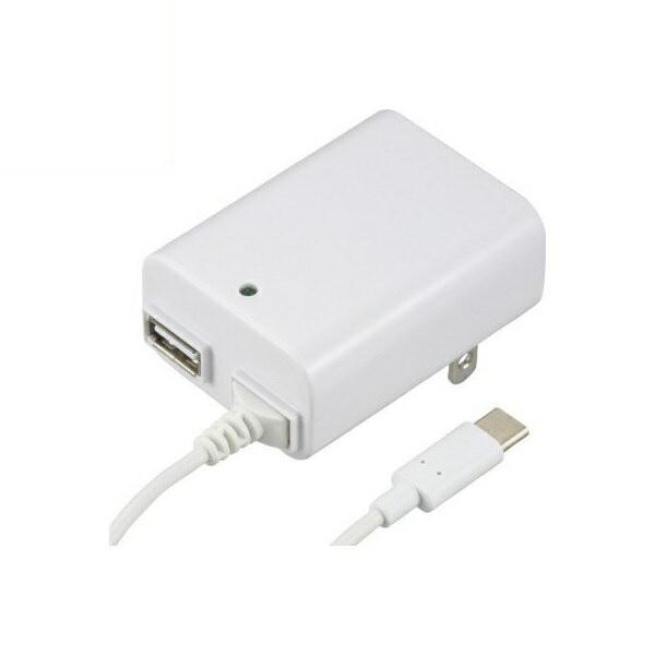 【送料無料】OHM ACアダプター USB Type-C+Type-...