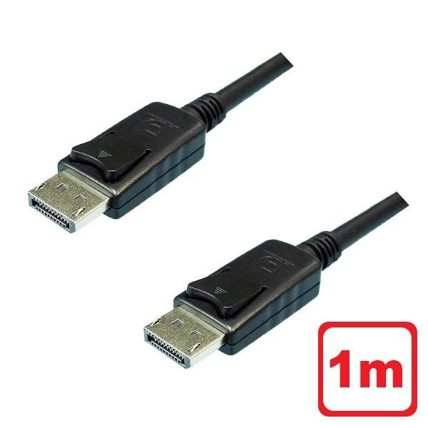 メール便送料無料 4K対応 DisplayPortケーブル 1m...