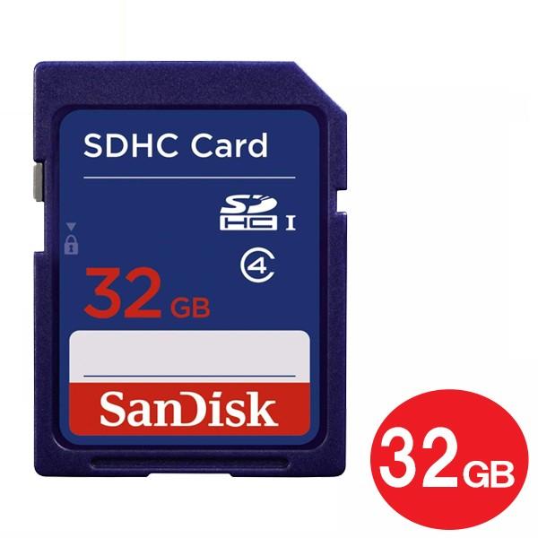 【メール便送料無料】サンディスク SDカード 32GB...