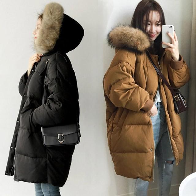 韓国風 中綿ジャケット冬服 フェイク 品質良い フ...