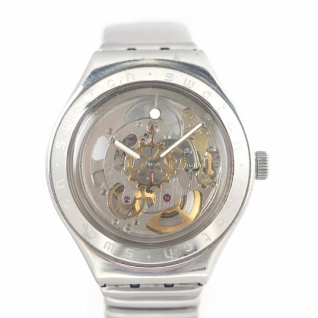 Swatch スウォッチ スケルトン 腕時計 ステンレス...