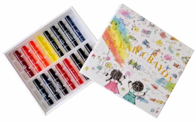 コクヨ Arts&Craftsシリーズ 透明くれよん 16...
