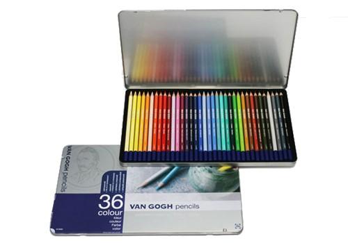 サクラクレパス ヴァンゴッホ 色鉛筆 36色セッ...