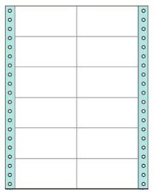 コクヨ タックフォーム ラベル寸法(86.4×42.3m...