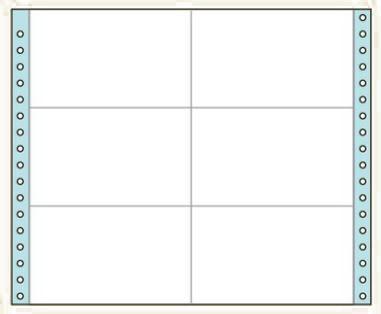 コクヨ タックフォーム ラベル寸法(127.0×76.2...
