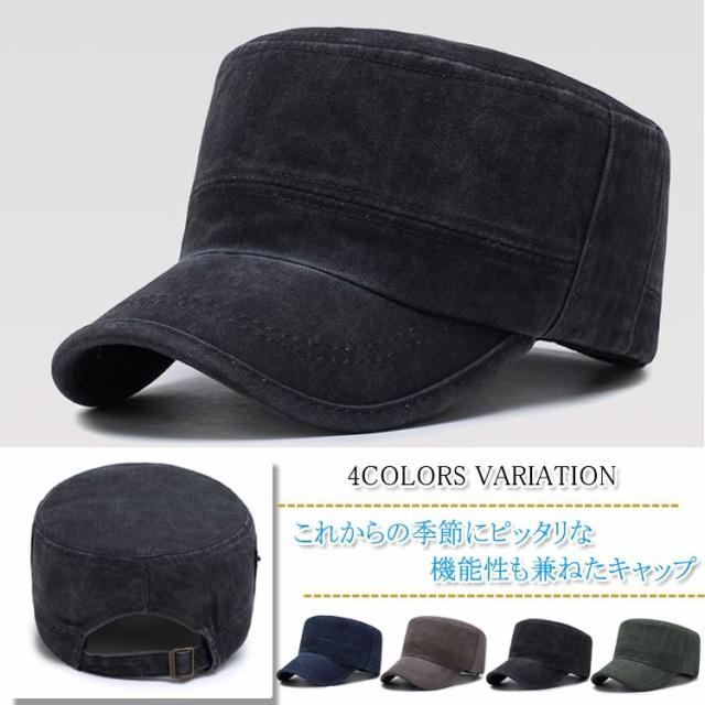 キャップ ワークキャップ 帽子 シンプル ぼうし ...