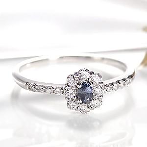 pt950 アレキサンドライト ダイヤモンド リング ...