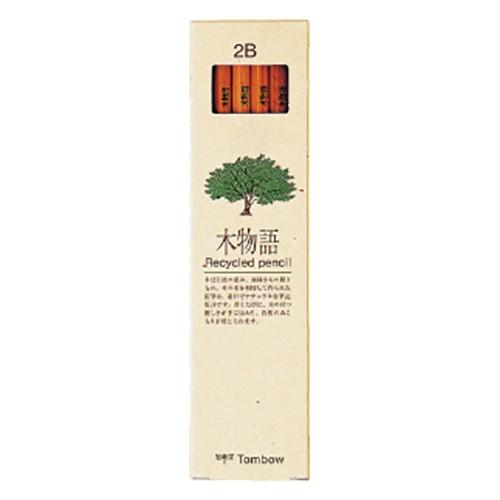 トンボ鉛筆  鉛筆 木物語 2B