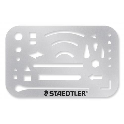 ステッドラー  字消板  ステンレス