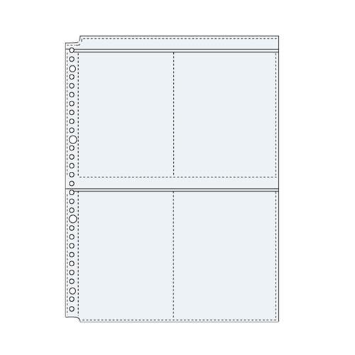 コレクト  透明ポケット A4−L 30穴