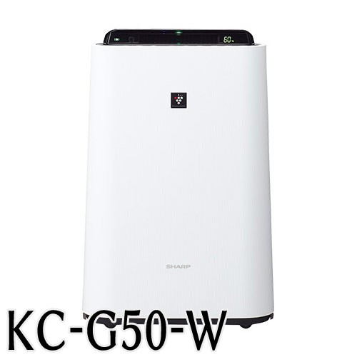 シャープ  加湿空気清浄機 KC−G50W