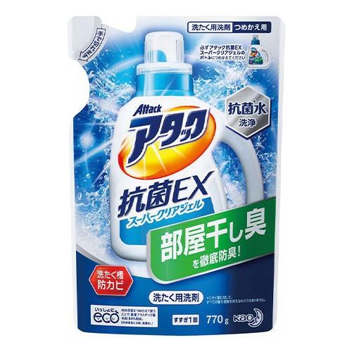 花王  アタック抗菌EX スーパークリアジェル