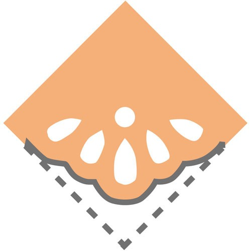 呉竹  キュアパンチ コーナー クラフトパンチ
