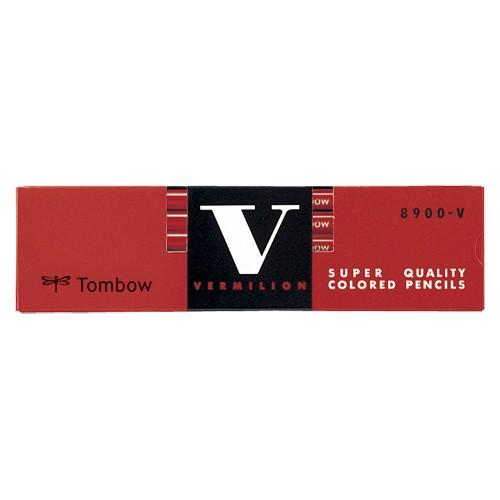 トンボ鉛筆  赤鉛筆 8900V
