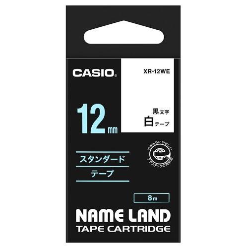 カシオ  ネームランド スタンダードテープ 12...