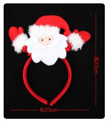 クリスマス仮装用小物 サンタカチューシャ クリス...