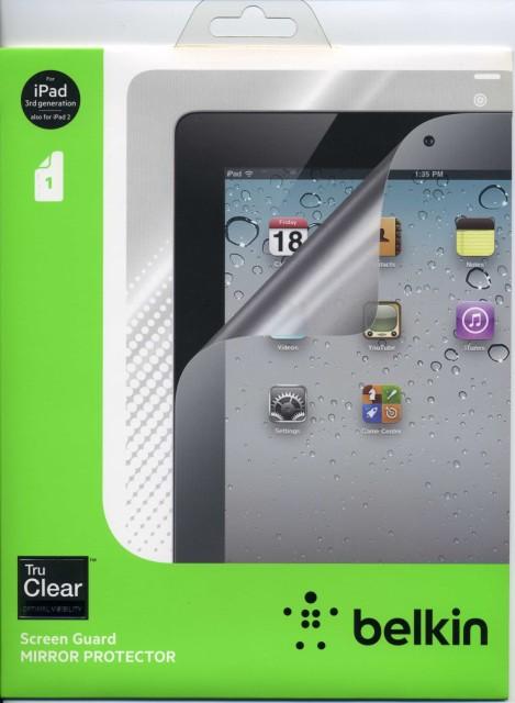 液晶保護フィルム BELKIN iPad2 iPad3 専用 ミラ...